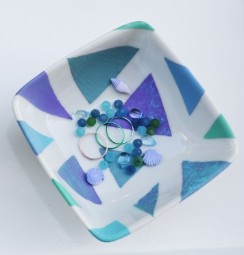 DIY Geometric Flower Pot & Jewellery Dish (using tape!)