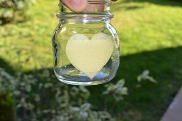 DIY Chalk Paint Heart Candle Holder - serendipidiy.wordpress.com