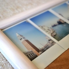 Travel Polaroid Display using Washi Tape - serendipidiy.wordpress.com