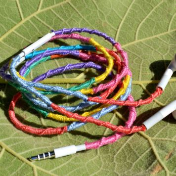 DIY Wrapped Headphones - serendipidiy.wordpress.com