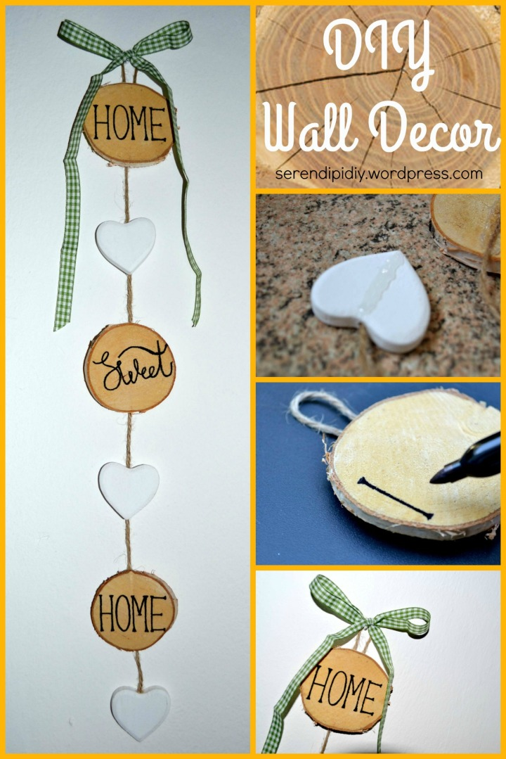 DIY Wall Decor - serendipidiy.wordpress.com