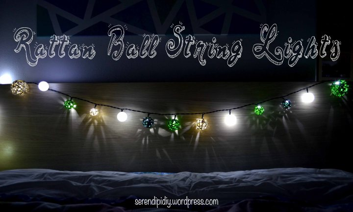 Rattan Ball String Lights ✨🎄
