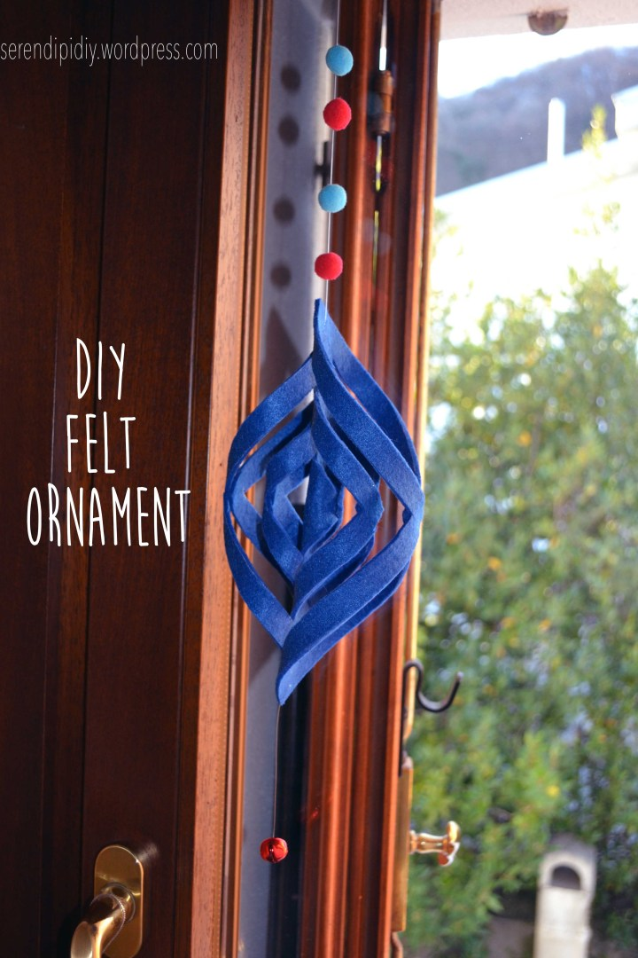 DIY Felt Ornament ❄️ 🎄