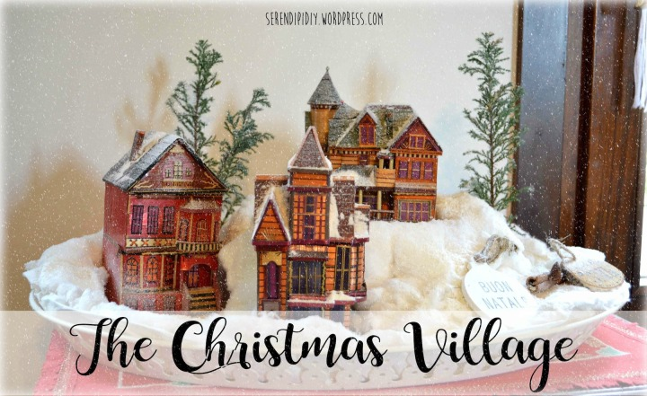 DIY Christmas Village ❄️🎄🏡