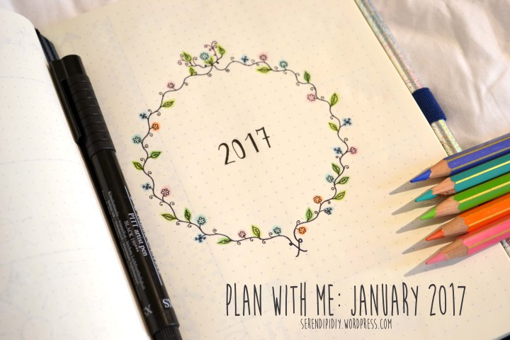 Plan With Me: January 2017 – Bullet Journal 📓✍🏻