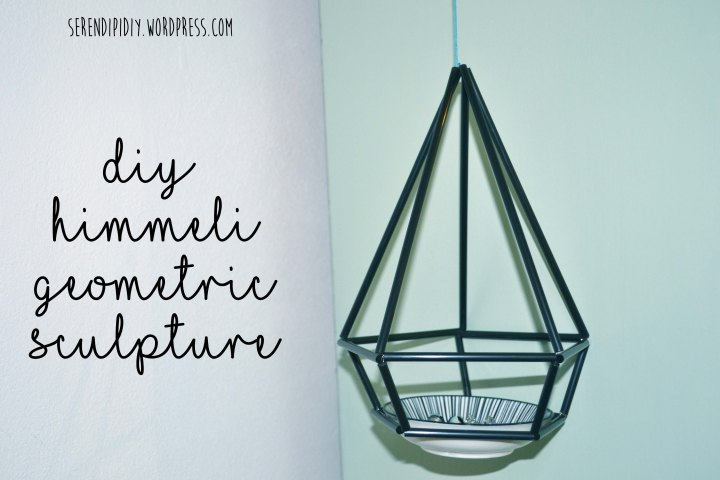 DIY Himmeli Geometric Sculpture ♢