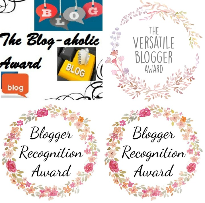 1 Post, 4 Blogger Awards 🏅🏅🏅🏅