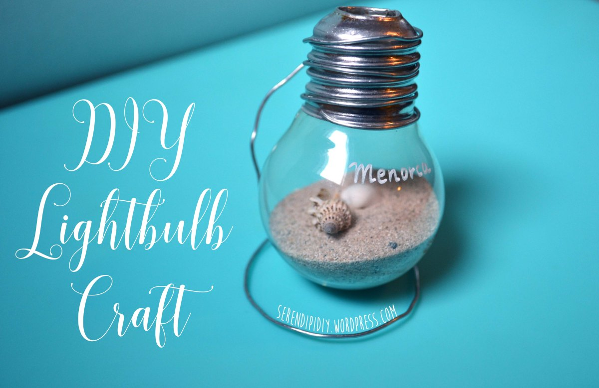 DIY Lightbulb Craft 💡🐚