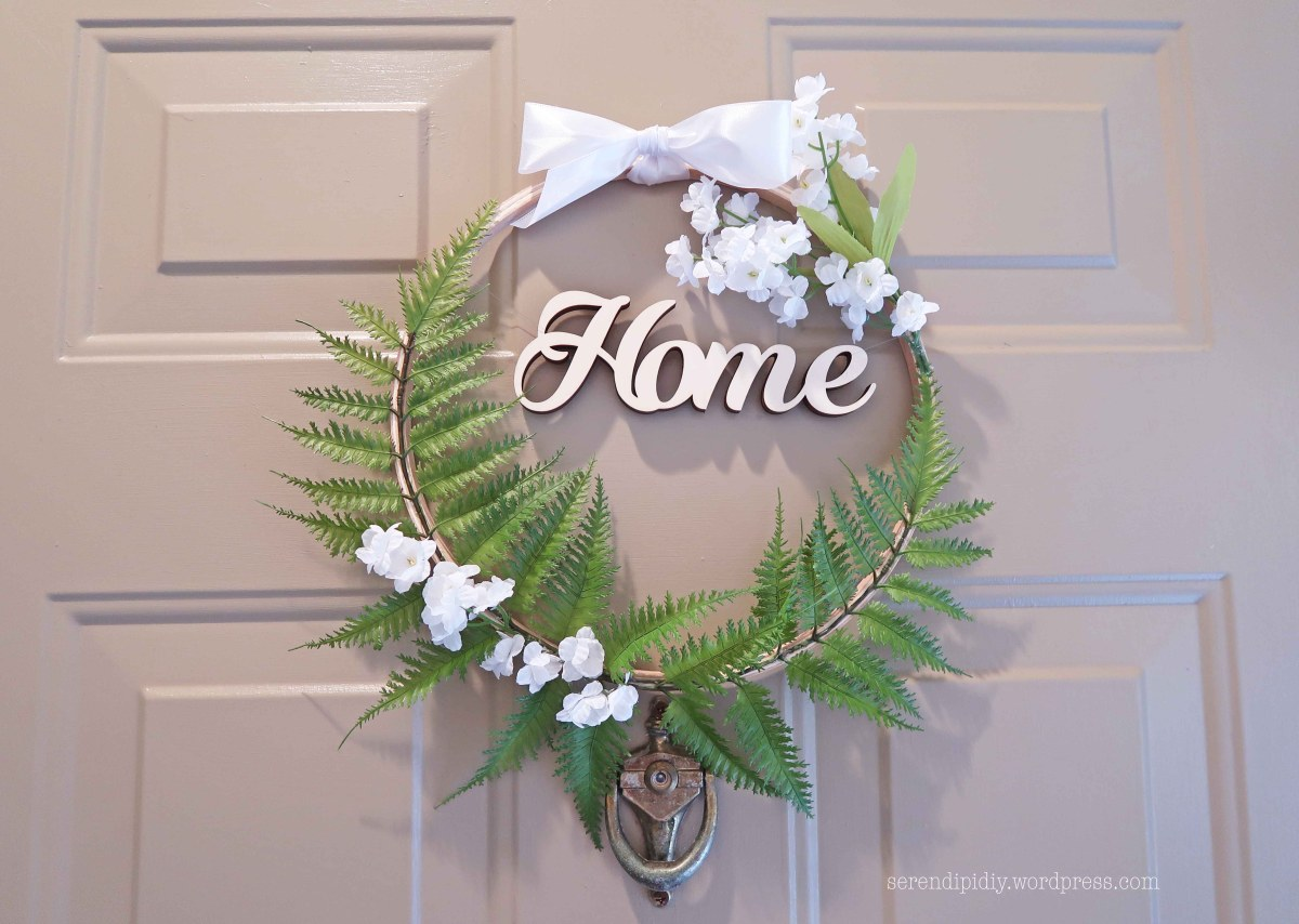 DIY Front Door Wreath - Summer