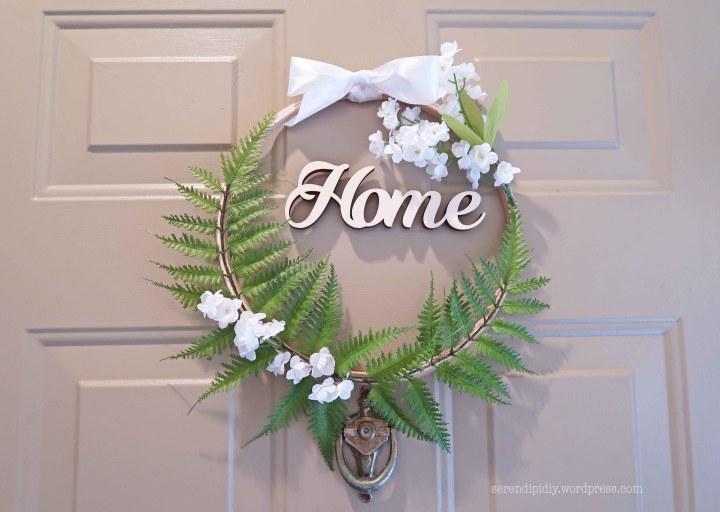 DIY Front Door Wreath – Summer