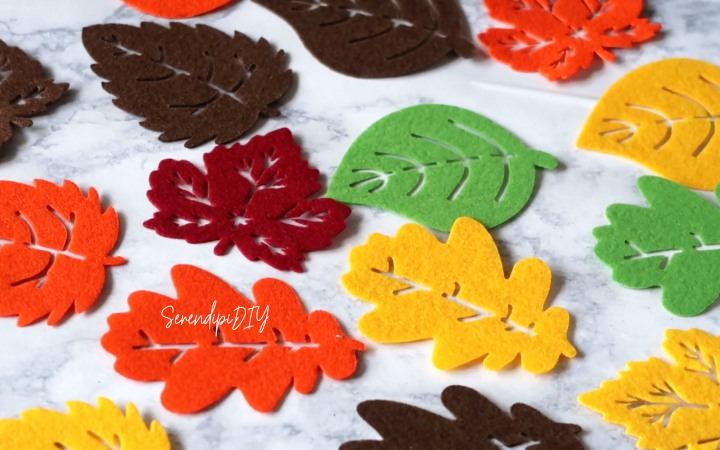 DIY Fall Garland Under $3