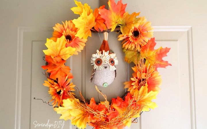 DIY Front Door Wreath – 2018